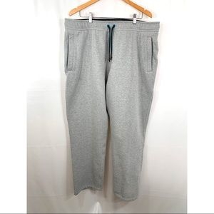 The North Face Heathered Grey Fleece Lined Joggers